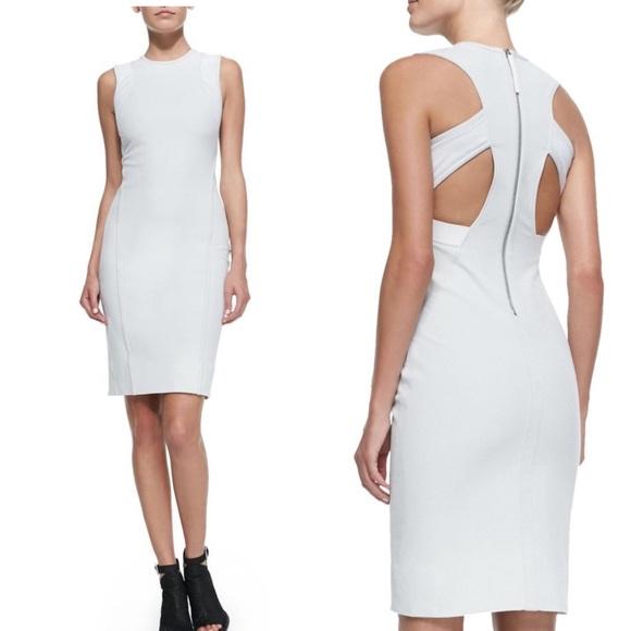 Helmut Lang Dresses & Skirts - NWOT Helmut Lang Compress Mesh Trim Twill Dress
